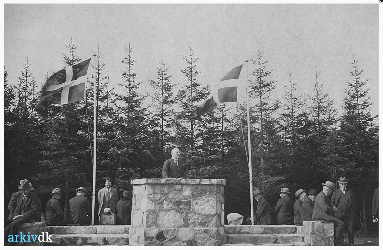 Tistrup anlæg indvielse 1932 - Forside